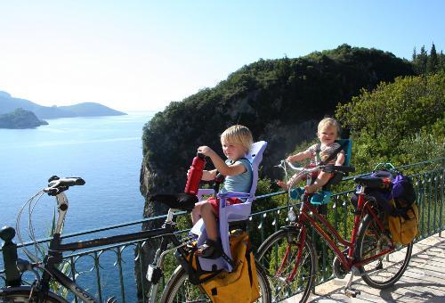 Vakantiefiets op Corfu