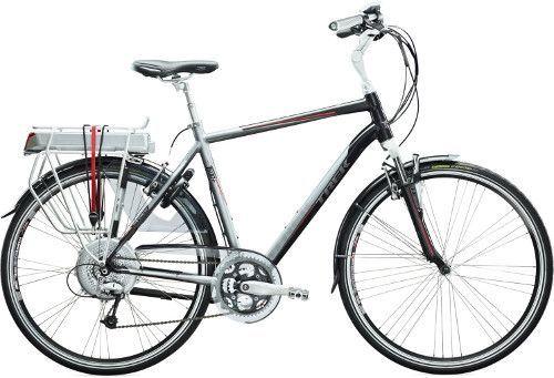 De trek 500+ e-bike . De Elektrische fiets die SNP op een aantal locaties te huur heeft