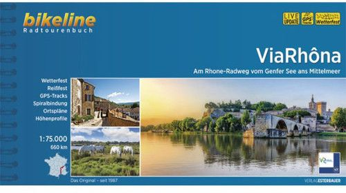 Fietsen langs de Rhône