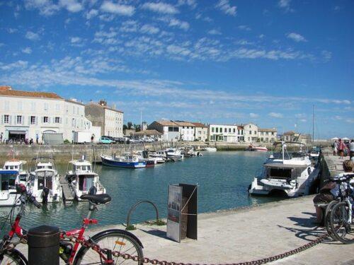 La Rochelle Eind/begin punt van La Vélo Francette