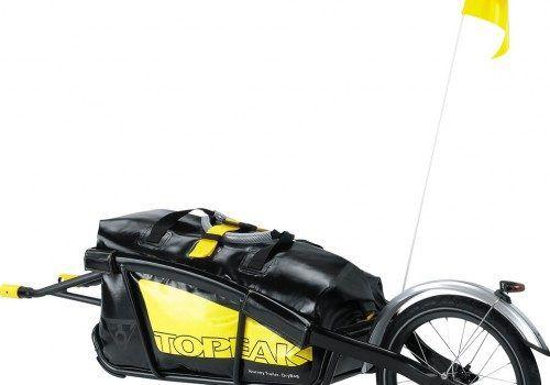 Fietskarren voor de fietsvakantie