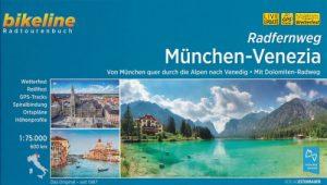 De Alpen over fietsen: Fietsgids München - Venezia