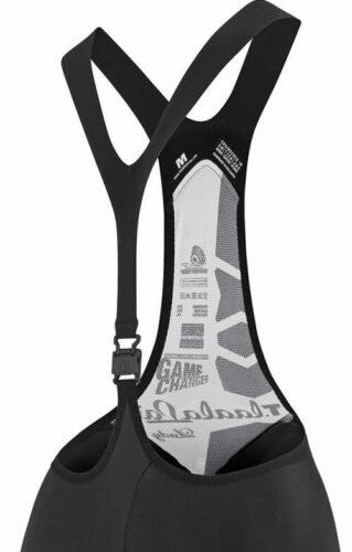 Dames fietsbroek met enkele bretel
